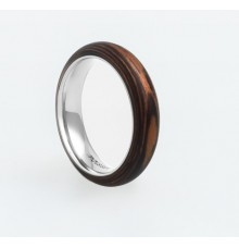 Wooden Ring TM-Tiger Stripes