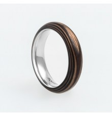 Wooden Ring TM-Squirrel Stripes
