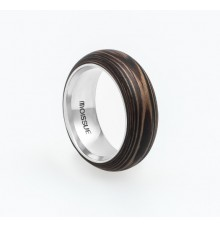 Wooden Ring WM-Squirrel Stripes